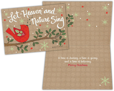 Let Heaven Sing - Special Finish Boxed Christmas Cards