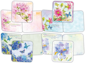 Nature's Garden - Assorted Greeting Cards, Box of 16