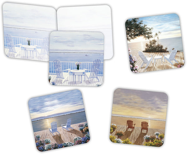 Paradise Found - Assorted Greeting Cards, Box of 16