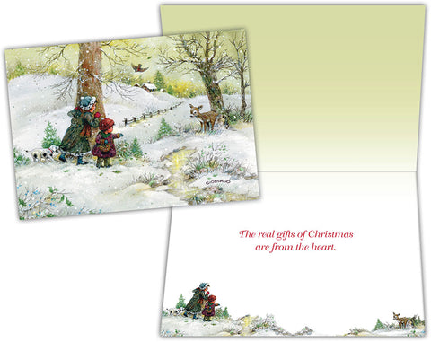 Our New Friend - Boxed Christmas Cards