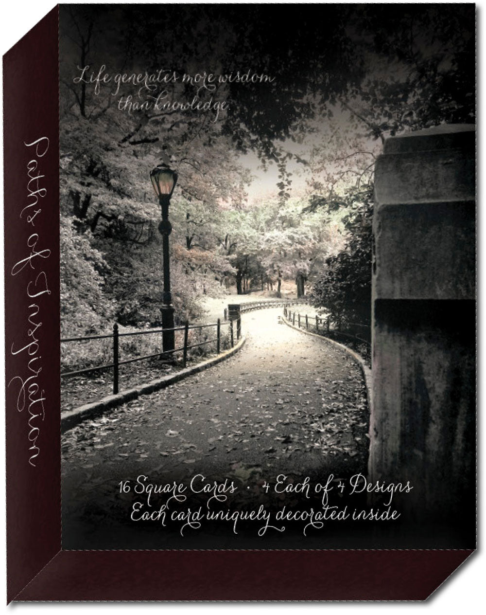Paths of Inspiration - Assorted Inspiration Cards, Box of 16