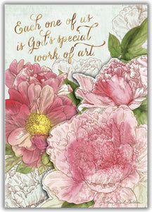 Pink Peony - Boxed Greeting Cards, Box of 15