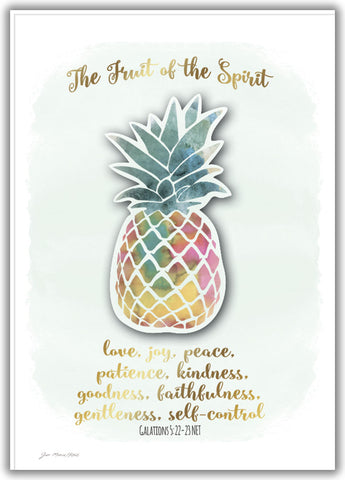 Fruit of the Spirit - Boxed Greeting Card, Box of 15