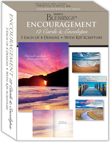 Encouragement II - Assorted Encouragement Cards, Box of 12