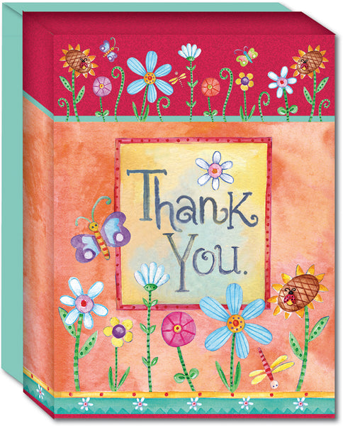 Sweet Words Thank You - Boxed Thank You Cards, Box of 15