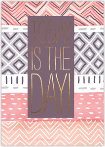 Today is the Day - Individual Birthday Card