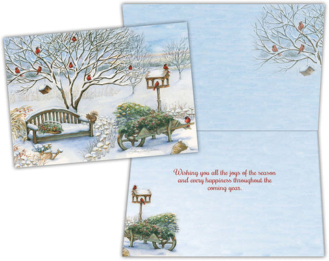 Winter Garden - Boxed Christmas Cards