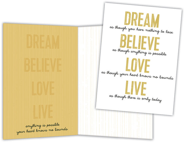 Word Art - Boxed Note Cards, Box of 15