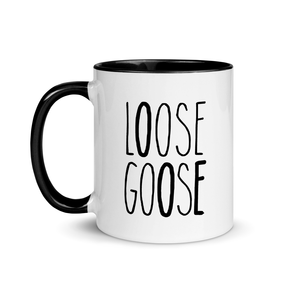 Loose Goose Flower Mug