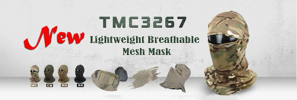 TMC Tactical Camouflage Head Cover Airsoft Mask Sunscreen Dust-proof Full-wrapped Headscarf