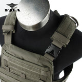 FMA Tactical Vest AVS Mbav Plate Carrier 500D Cordura Ranger Green & Black Limited Edition