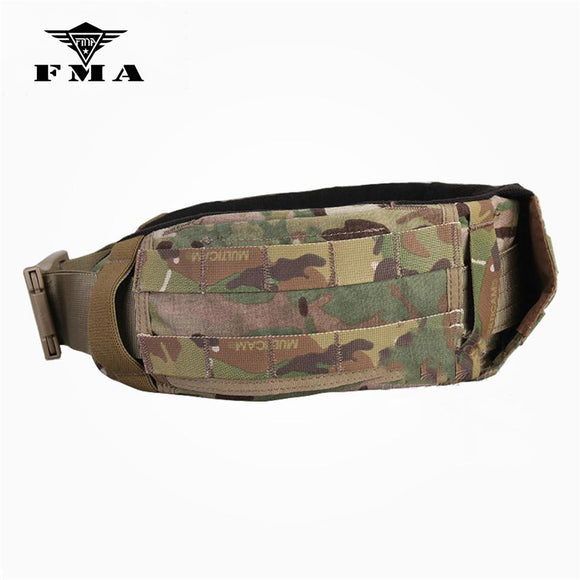 FMA Tactical Belt Multicam CP Style AVS Low Profile Belt Molle Waist Belt Waistband