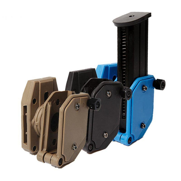 FMA IPSC USPSA IDPA Tactical Multi-Angle Adjustment Speed Pistol Magazine Pouch Mag Holster Holder