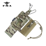 FMA Tactical Pouches 148/152 Radio Pouch Multicam Walkie Talkie Bag for Outdoor Airsoft SPC Tactical Vest