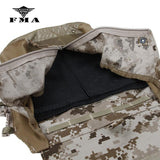 FMA Tactical Vest JPC2.0 Zipper Pouches Bag Military 500D AOR1 for 16-19 AVS CPC Tactical vest