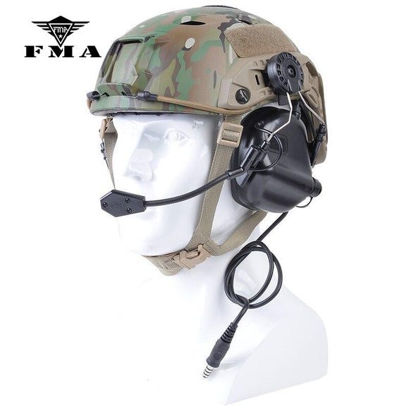 OPSMEN Earmor Tactical Headset M32H MOD3 Noise Canceling Headphone for FAST Helmets