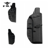 FMA Tactical Glock Holster Concealed Carry Kydex Inside Waistband Holster for Glock 17 Glock22 Glock31