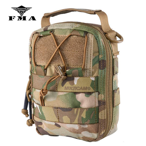 FMA Tactical Medical Pouches MOLLE EMT Pouch Rip-Away Medical First Aid IFAK Utility Pouch
