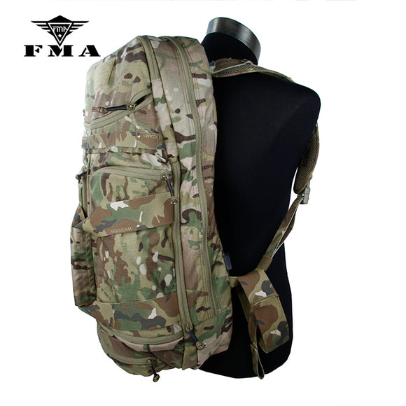 FMA Tactical Assault Backpack Large Capacity Multicam 500D Nylon for Airsoft Sports Hunting