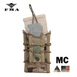 FMA Tactical M4 Magazine Pouches Double Mag Pistol Rifle Molle Magazine Pouch for M4 M16 AK Glock
