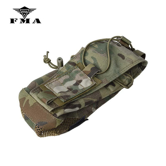 FMA New Multicam PRC-152 Radio Pouch Tactical Vest Molle Bag Maritime Ver