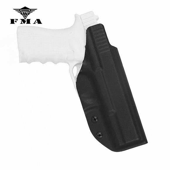 FMA Tactical Glock Holster Kydex Inside Waistband Holster Concealed Carry Right Hand for Glock 17 / 22 / 31