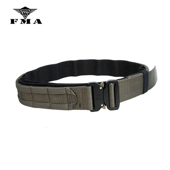 FMA Tactical Belt CS Outdoor Military Army Fighter 1.75 Inch Black Hunting Shooter Belt