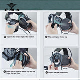 Tactical Silicone Earmuff Black for Comtac Series Headsets & Peltor Series Accessories Upgrade