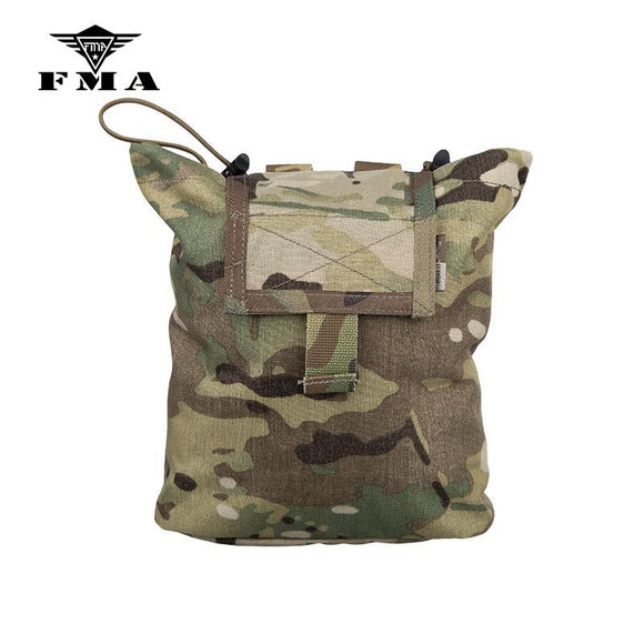 FMA Drop Pouch Multicam Tactical Molle Magazine Pouch Airsoft Tool Mag Pouches