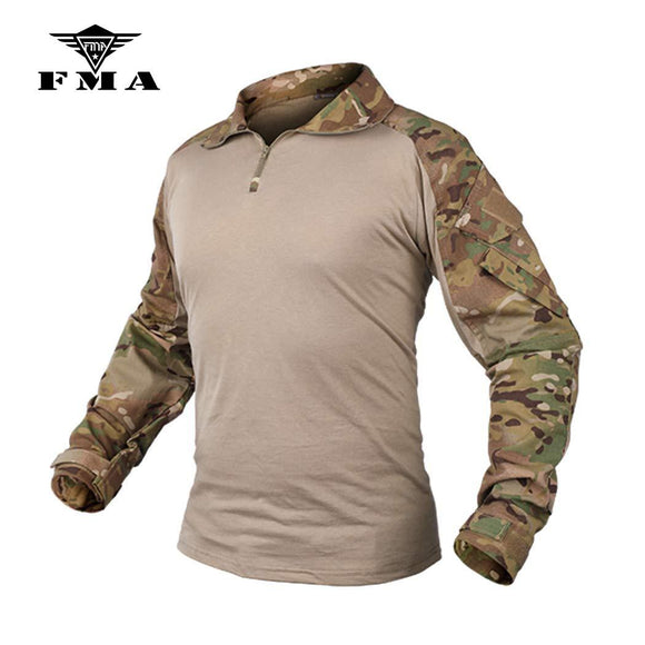 FMA Men G3 Combat Shirt Military Paintball Airsoft Tactical Gear Multicam Clothing Camouflage