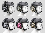 Tactical Headset M32H Noise Canceling Headphone with Helmet Rail Adapter Set