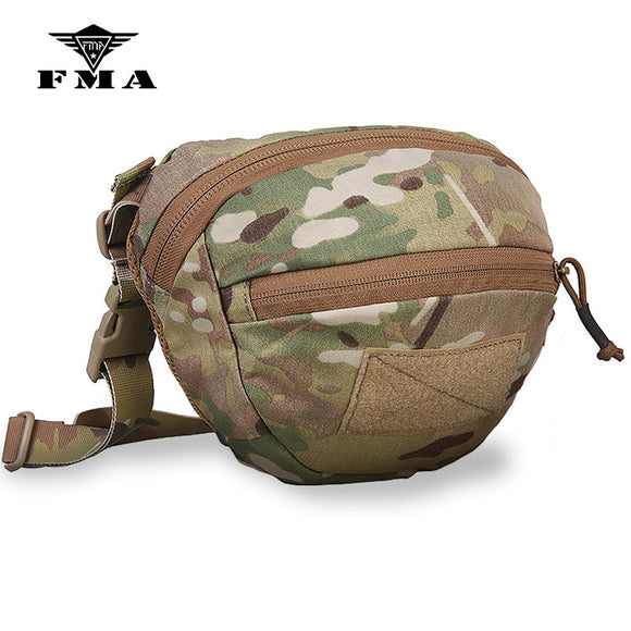 FMA Tactical Pouch Waist Bags Multicam Maka Style for Outdoor Sports Wargame Airsoft Equipment