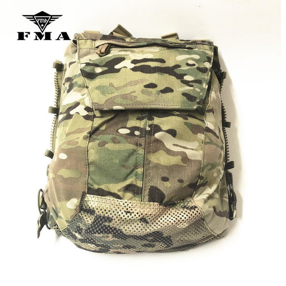 FMA Tactical Pouch Vest Zipper-on Panel Multicam CPC AVS JPC2.0 Pouch Shooting Military Vest Plate Carrier Bags Free Shipping