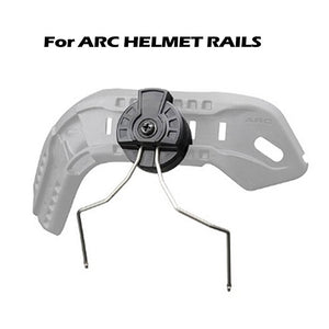 EARMOR HeadSet RAC Fast Helmet Rails Adapter Attachment Kit for ARC Rail Adapter
