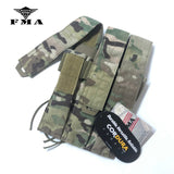 FMA Tactical Pouches Triple Magazine Pouch MOLLE Mag Carrier SMG Mag Camo Military Molle