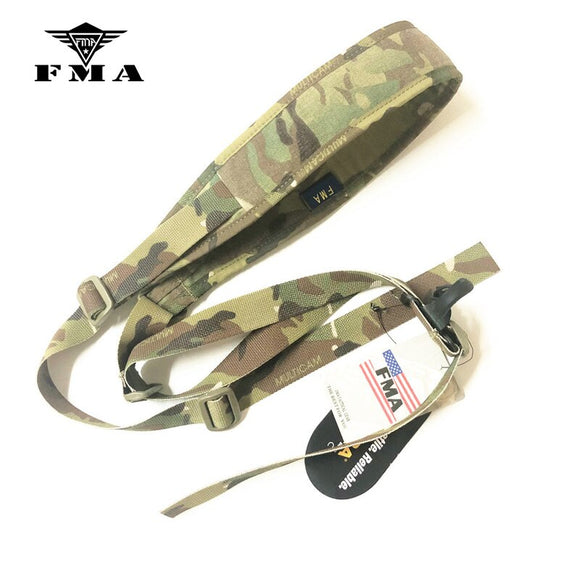 FMA Military OIA Sling Multicam Quick Adjust Rifle Sling for IPSC Airsoft Gun Sling