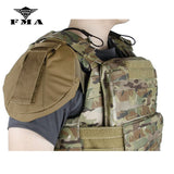 FMA Shoulder Armor 1pair Protector Protective Sleeve Multicam for AVS CPC Tactical Vest