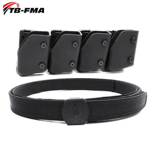 FMA IPSC Belt & Multi-angle Speed Pistol Magazine Pouch Set Mag Carrier Holster