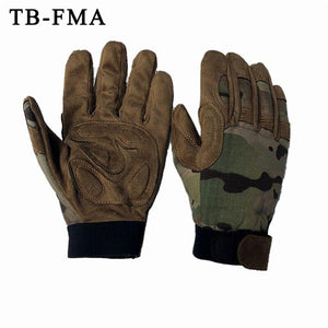 FMA Best Tactical Gloves Lightweight Camouflage Multicam for Outdoor Hunting Airsoft Free Shipping