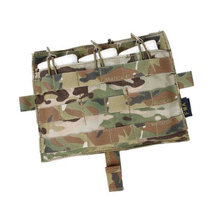 FMA Tactical Molle M4 TRIPLE Magazine Pouch Multicam for Tactical AVS JPC2.0 Vest