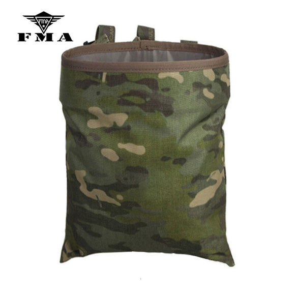 FMA Drop pouch Tactical Sundries Folding Dump Pouch Airsoft Military Magazine Pouch