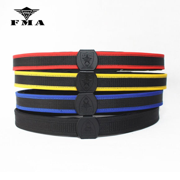FMA IPSC Belt USPSA IDPA 3 GUN Profession Competition Shooting Belt High Speed Shooter's Adjustable Inner & Outer Belt