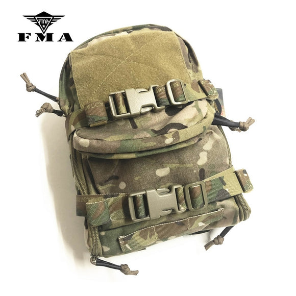 FMA Tactical Pouch Hydration Multicam Water Bag Outdoor Sport Molle Pack for Tactical Vests Molle Free Shipping