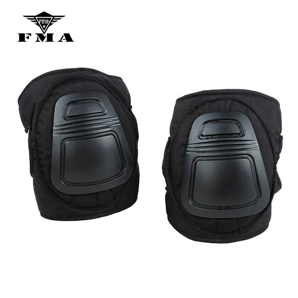 FMA DNI Nylon Knee Pads Set Airsoft Military Tactical Protective Knee Pads Military Supplies