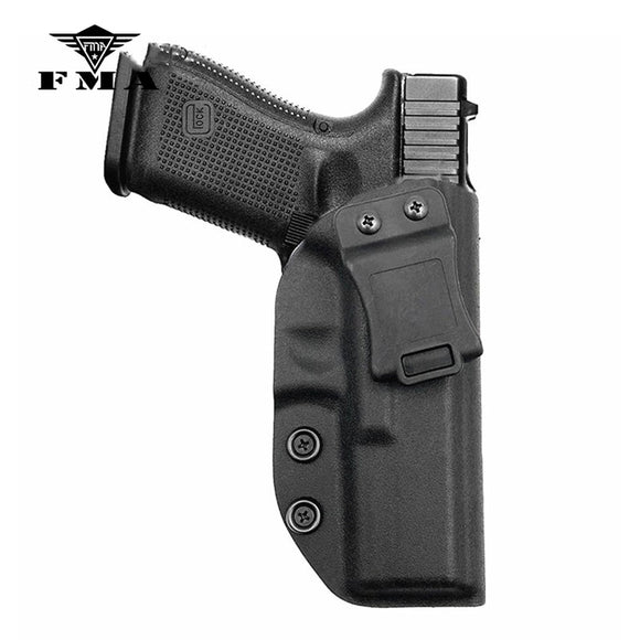 FMA Tactical Glock Holster Concealed Carry Right Hand Tactical Pistol Holster Kydex Inside Waistband Holster for Glock 17/22/31