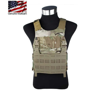 FMA Tactical FCSK Vest Plate Carrier Multicam 500D Cordura for Airsoft Hunting Protect