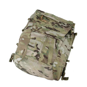 FMA Multicam Tactical Vest Zipper Panel Pouch CPC AVS JPC2.0 Pouches Shooting Military Vest Plate