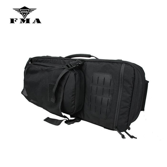 FMA Tactical Gun Storage Bag Multi Purpose Action Backpack Nylon 500D Collect Tactical Gear Accessories