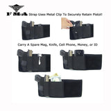 FMA Tactical Belly Pistol Holster Right & Left Hand Concealed Carry Waist Gun Holster