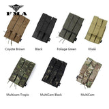FMA Tactical Triple Magazine Pouch Kriss Vector MOLLE Mag Carrier SMG Mag Camo